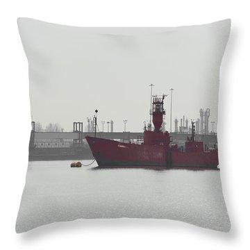 Old Ship Throw Pillow by Svetlana Sewell