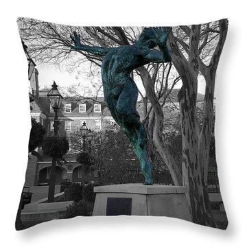 Old Town Alexandria - Brio 1 Throw Pillow by Richard Reeve
