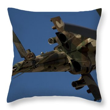 On The Attack II Throw Pillow by Paul Job