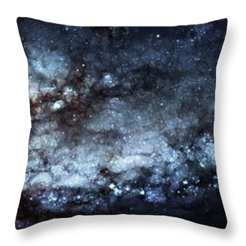 On The Galaxy Edge Throw Pillow by The  Vault - Jennifer Rondinelli Reilly