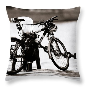 On The Quay - Featured 3 Throw Pillow by Alexander Senin