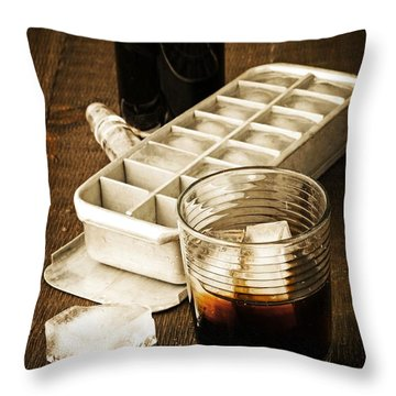 On The Rocks Throw Pillow by Edward Fielding