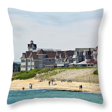 On The Vineyard Throw Pillow by Michelle Wiarda