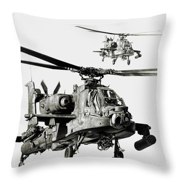 On The Way Throw Pillow by Murray Jones