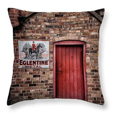 Once Upon A Time Throw Pillow by Adrian Evans