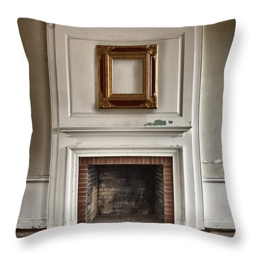 Once Was Throw Pillow by Margie Hurwich