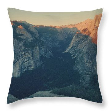 One Last Show Throw Pillow by Laurie Search