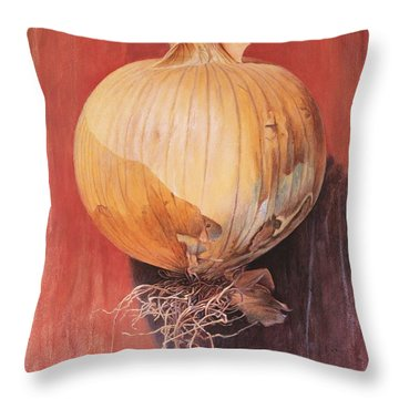 Onion Throw Pillow by Hans Droog