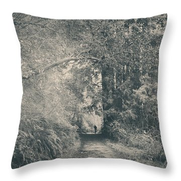 Only Peace Throw Pillow by Laurie Search