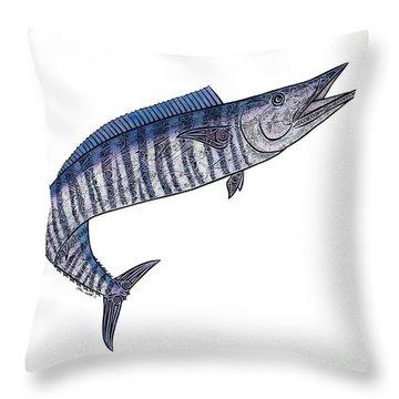 Ono II Throw Pillow by Carol Lynne