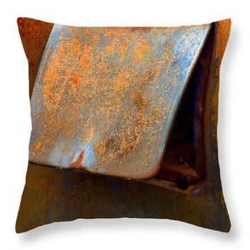 Open Cap Throw Pillow by Jean Noren