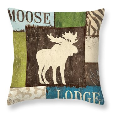 Open Season 1 Throw Pillow by Debbie DeWitt