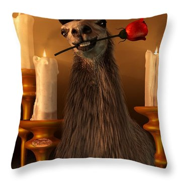 Orgle Throw Pillow by Daniel Eskridge