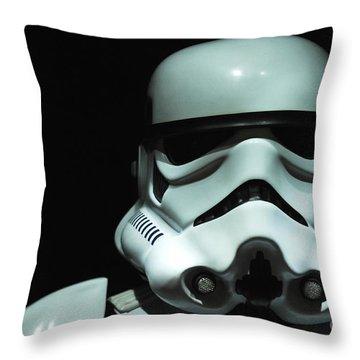 Original Stormtrooper Throw Pillow by Micah May
