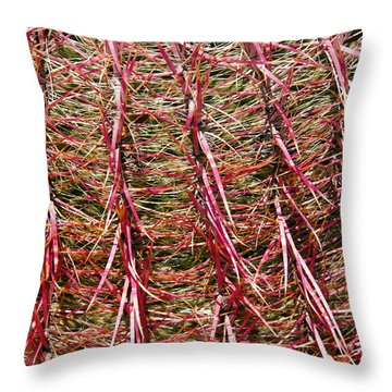 Ouch Throw Pillow by Bob Phillips