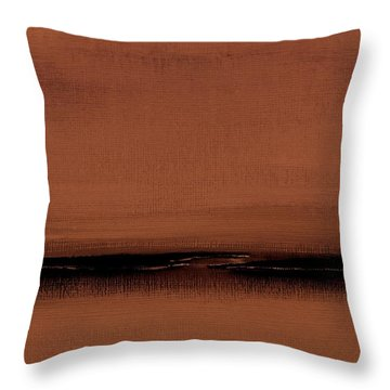 Our Oceans  The Continental Dividers  Number 1133-1 Throw Pillow by Diane Strain