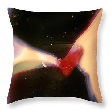 Outer Space Man Throw Pillow by Omaste Witkowski