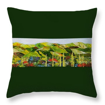Pageantry Throw Pillow by Allan P Friedlander