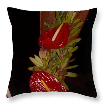 Painter's Palette Throw Pillow by Sonali Gangane