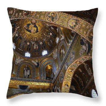 Palatine Chapel Throw Pillow by RicardMN Photography