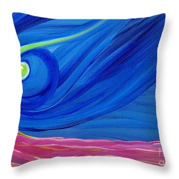 Panspermia  Throw Pillow by First Star Art