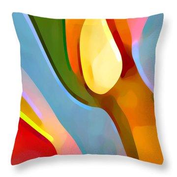Paradise Found 6 Throw Pillow by Amy Vangsgard