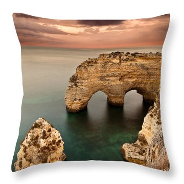 Paradise Throw Pillow by Jorge Maia