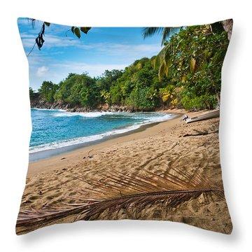 Parlatuvier Throw Pillow by Marion Galt