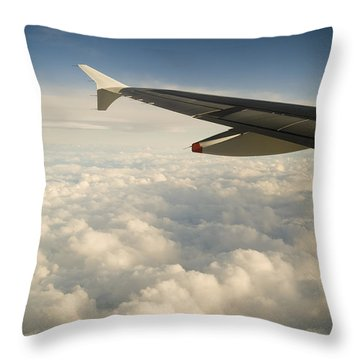Passenger View Throw Pillow by Tim Hester