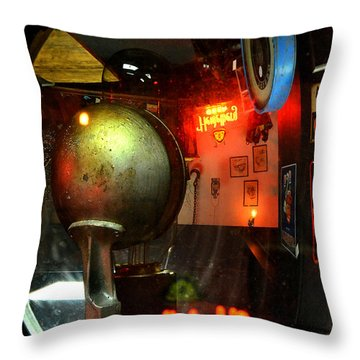 Past Tense 2 Throw Pillow by Newel Hunter