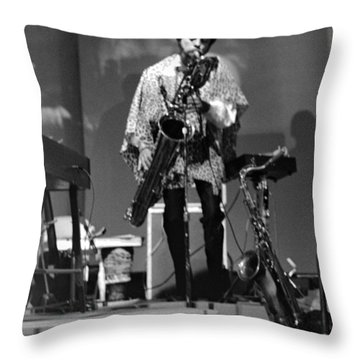 Pat Patrick 1968 Throw Pillow by Lee  Santa