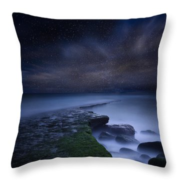 Path To Infinity Throw Pillow by Jorge Maia
