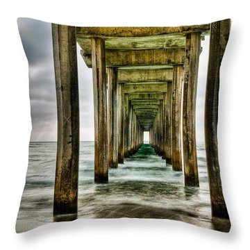Pathway To The Light Throw Pillow by Aron Kearney