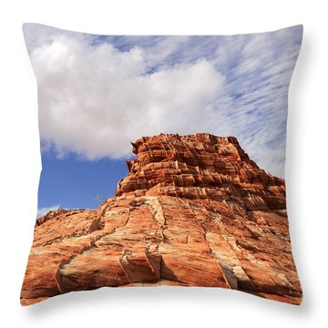 Patterns Throw Pillow by Bob Christopher