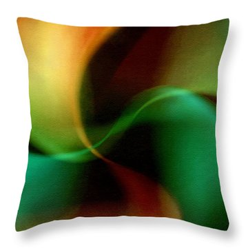 Patterns In Nature No.2 Throw Pillow by Bonnie Bruno