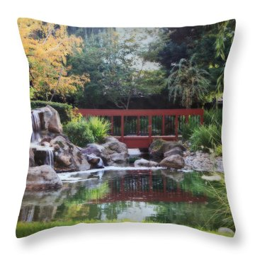 Peaceful Dreams Throw Pillow by Laurie Search