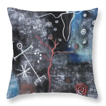 Pele's Domain Throw Pillow by Diana Perfect
