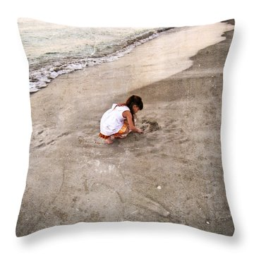 Perfect Company Throw Pillow by Sharon Cummings