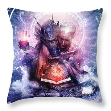 Perhaps The Dreams Are Of Soulmates Throw Pillow by Cameron Gray