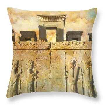 Persepolis  Throw Pillow by Catf