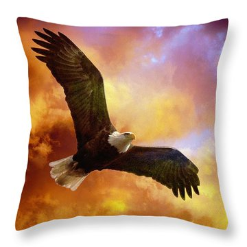 Perseverance Throw Pillow by Lois Bryan