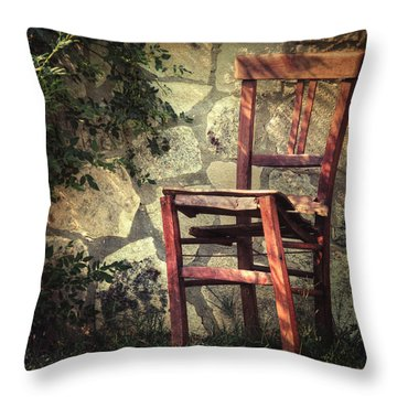 Persistence Of Memory Throw Pillow by Taylan Soyturk