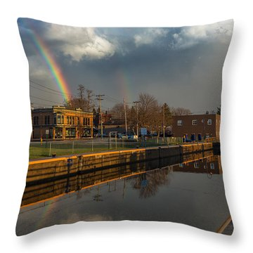 Phoenix Pot Of Gold Throw Pillow by Everet Regal