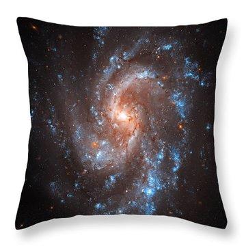 Pinwheel Galaxy Throw Pillow by Jennifer Rondinelli Reilly - Fine Art Photography