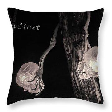 Pirate Mast Lights Throw Pillow by LeeAnn McLaneGoetz McLaneGoetzStudioLLCcom