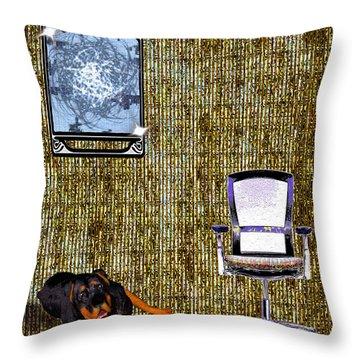 Place Throw Pillow by Daniel Janda
