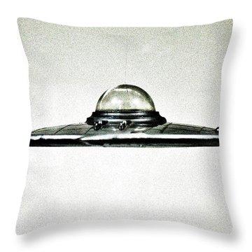 Plan 9  U F O Throw Pillow by Benjamin Yeager
