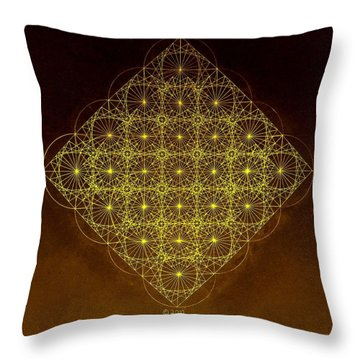 Planck Space Time  Throw Pillow by Jason Padgett