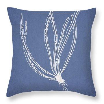 Polypodium Subevenosum Throw Pillow by Aged Pixel