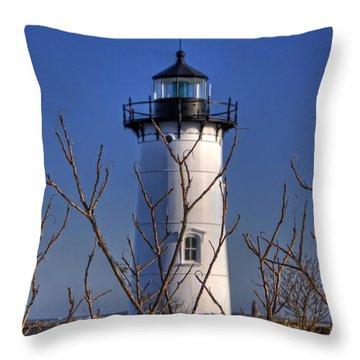 Portsmouth Harbor Light 3 Throw Pillow by Joann Vitali
